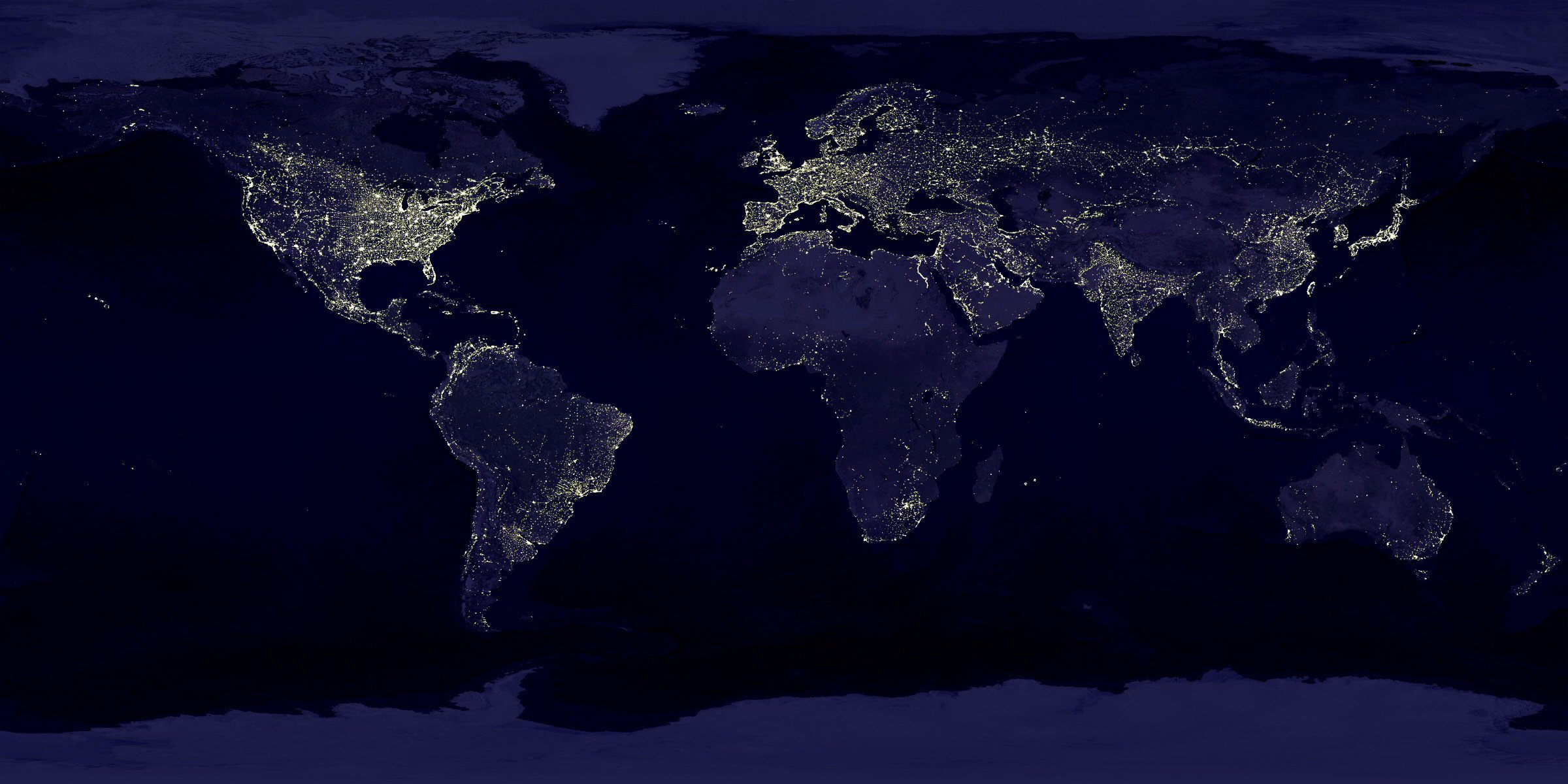 x 11 from space nasa earth at night - photo #3